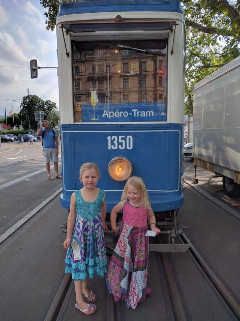 Apero Tram in Zurich