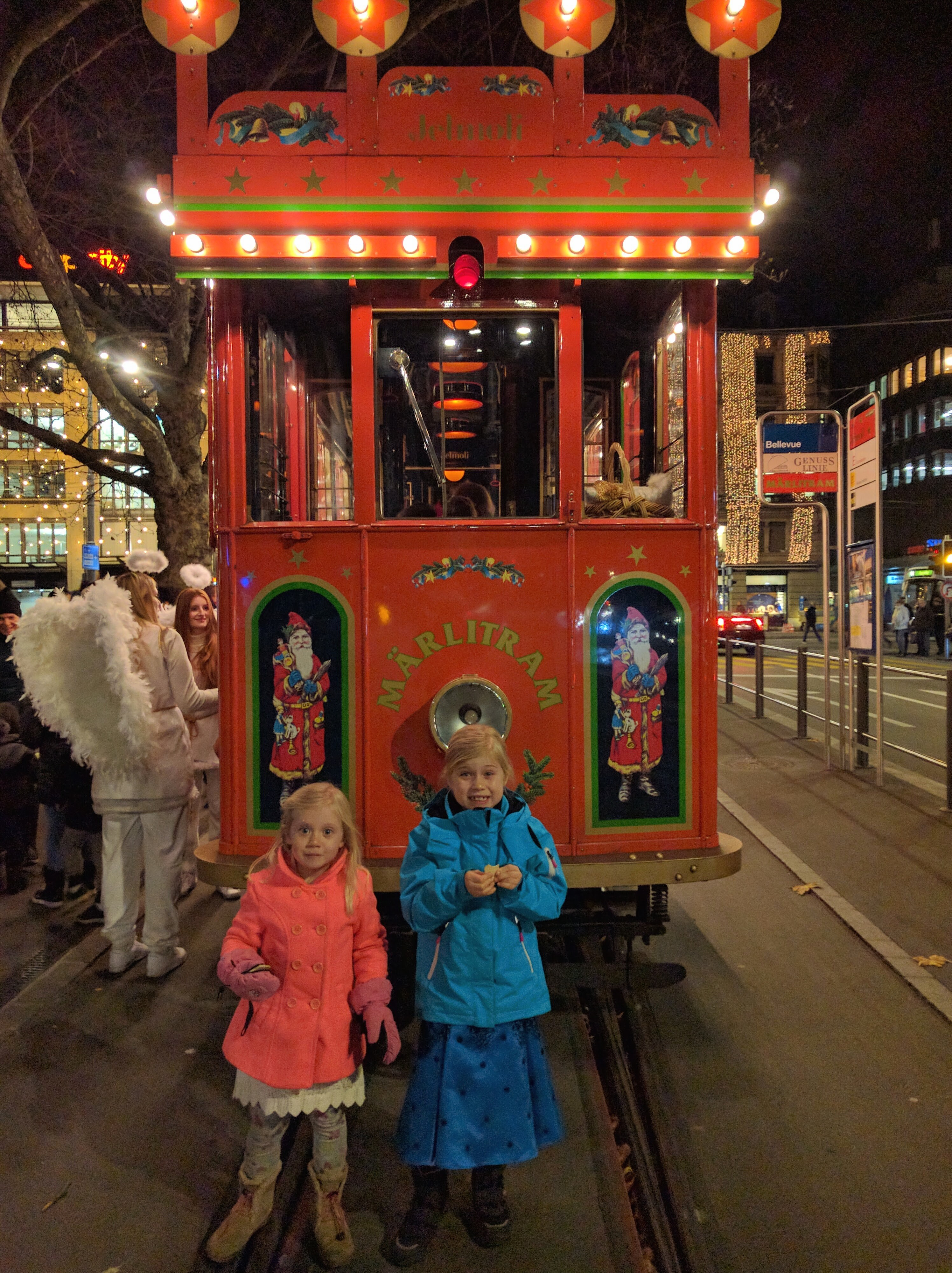 The Märlitram, A Jelmoli Christmas Tradition, Rides Through Zurich