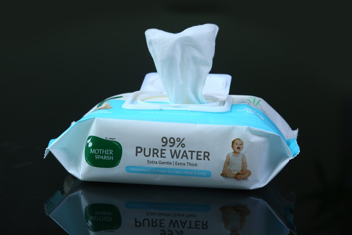 5 Reasons why your baby deserves Water wipes by Mother Sparsh
