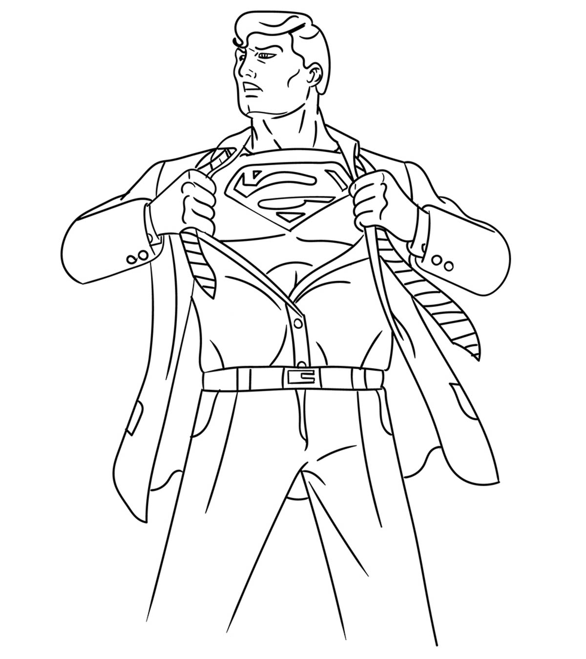 Superman Coloring Games Online
