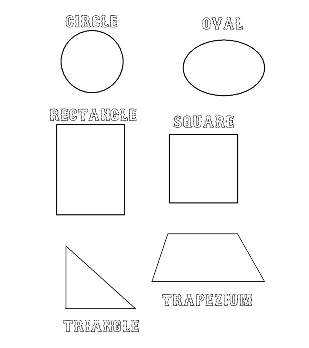 Coloring Books Triangle Design Drawing Easy