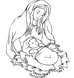 Top 25 Free Printable Christmas Coloring Pages Online [ 1350 x 1200 Pixel ]