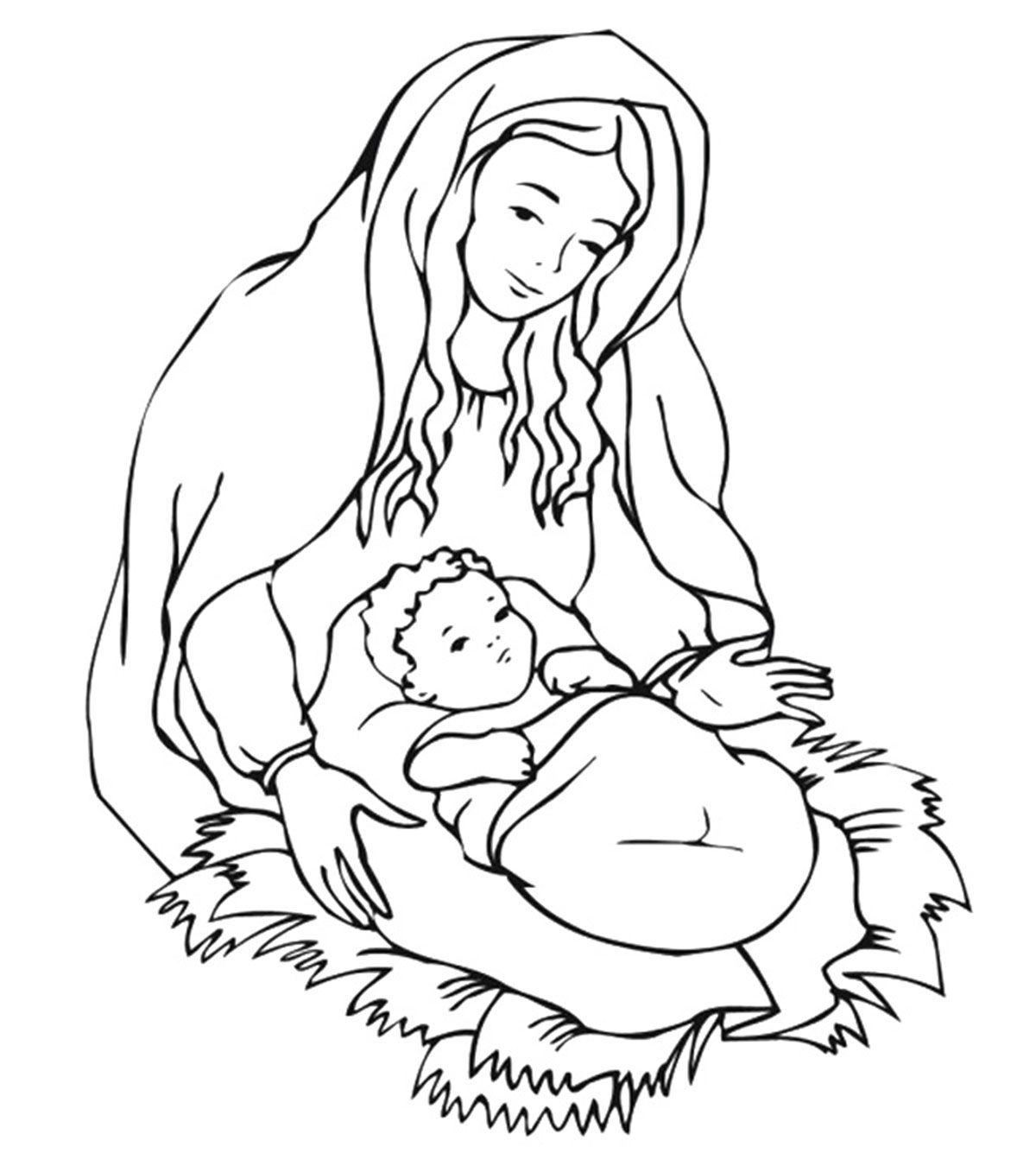 hight resolution of Top 25 Free Printable Christmas Coloring Pages Online