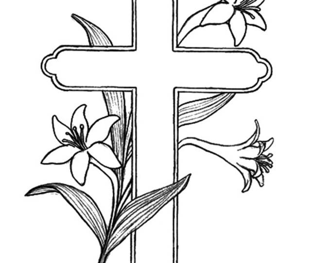 Top  Free Printable Cross Coloring Pages Online