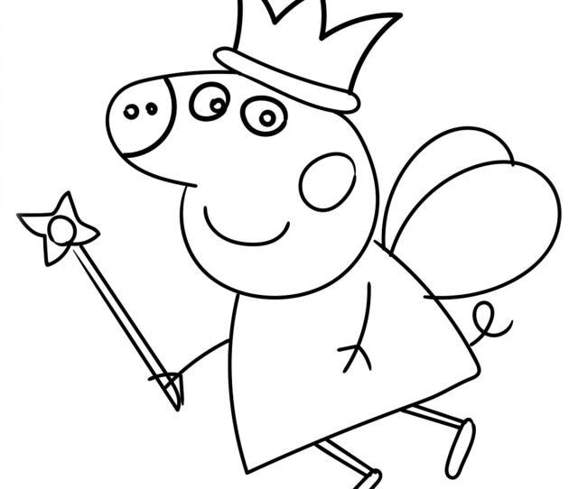 Top  Free Printable Peppa Pig Coloring Pages Online