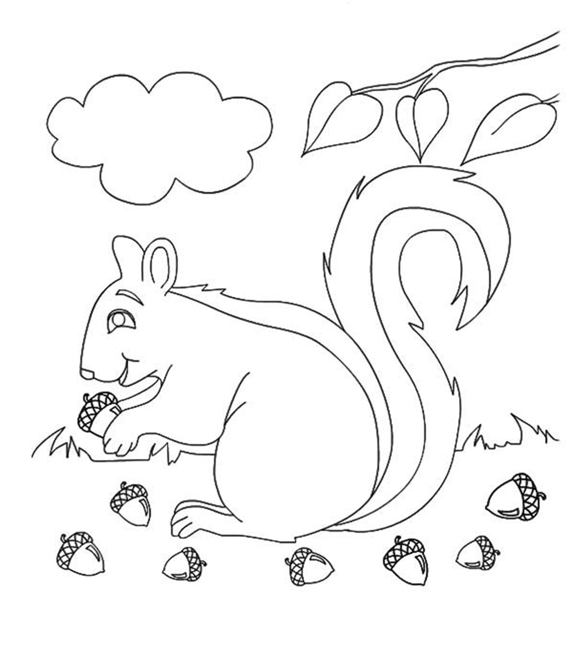 Coloring Pages For Weather Symbols