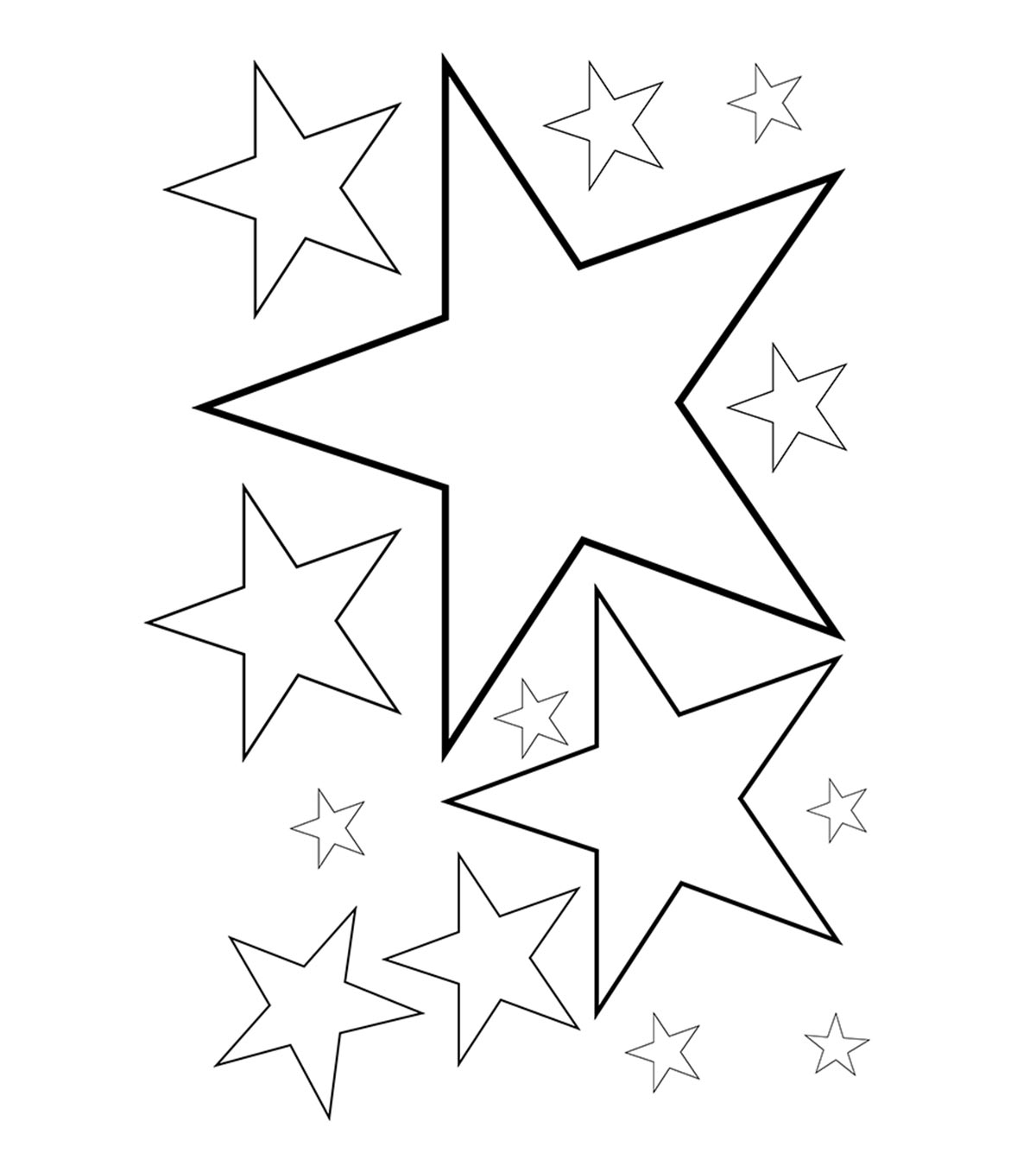 Get Here Traceable Star Patterns