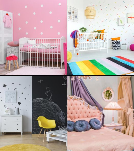 Decorating Baby Girl Room | Decoration For Home