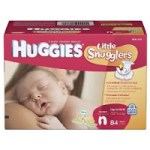 Huggies Little Snugglers Diapers – Size Newborn $11.19