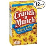 Crunch 'n Munch Toffee Popcorn (Pack of 12) – $6.42