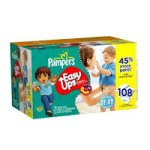 Pampers Easy Ups Boys/Girls as Low as $11.29!