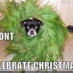 From Celebrating Holidays to Not Celebrating.