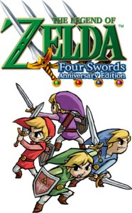 legend of zelda: four swords