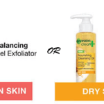 FREE Sample of Garnier Cleansing Oil or Gel Exfoliator