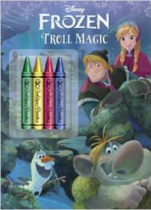 Troll Magic Frozen Coloring Book