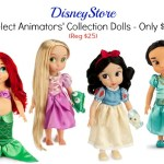 Select Disney Animators' Collection Dolls at DisneyStore Are Only $15!
