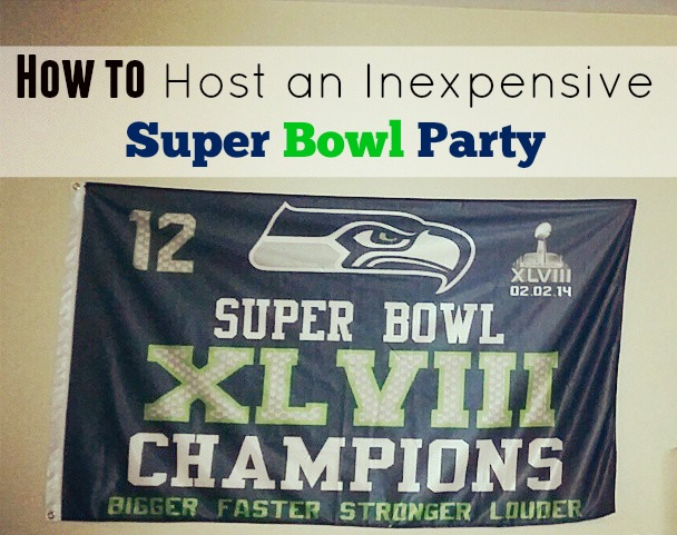 how to host an inexpensive super bowl party