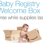 FREE Baby and Parent Welcome Box from Amazon!