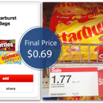 Starburst Candy Bags Are Only $0.69 at Target!