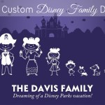 Get a FREE Custom Disney Family Decal