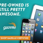 Win a Gazelle Certified pre-owned iPhone or iPad!