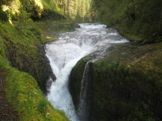 Twister Falls Eagle Creek