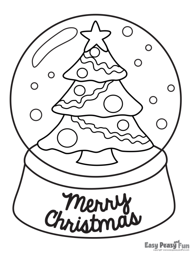 Free Christmas Coloring Pages  Mom Life Made Easy