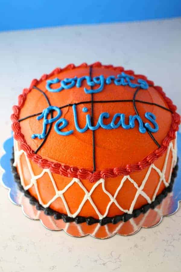 Wacky Chocolate Basketball Theme Cake  Mom Loves Baking