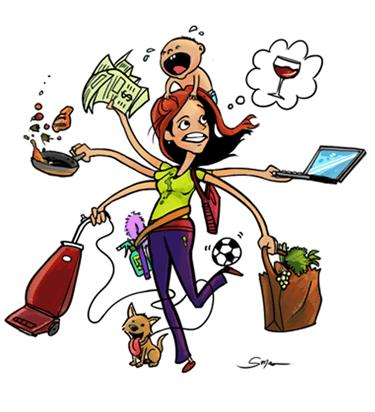 Image result for juggling mom