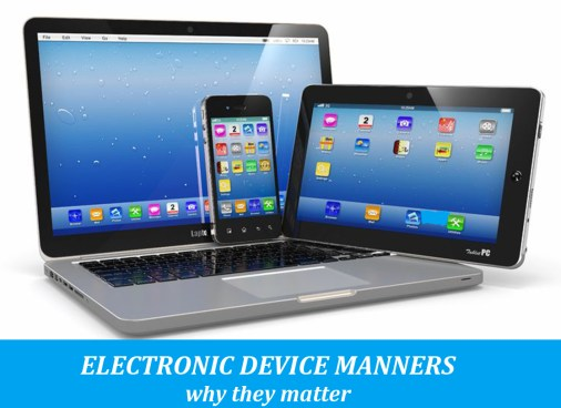 Electronic Device Manners: 5 lessons kids must learn