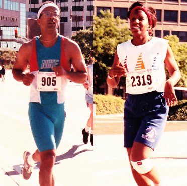 Dr. Momma provides proof that at one time she was a runner
