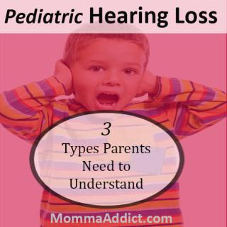 Dr. Momma discusses how the ear normally functions and how the impact of three different types of pediatric hearing loss can impact development