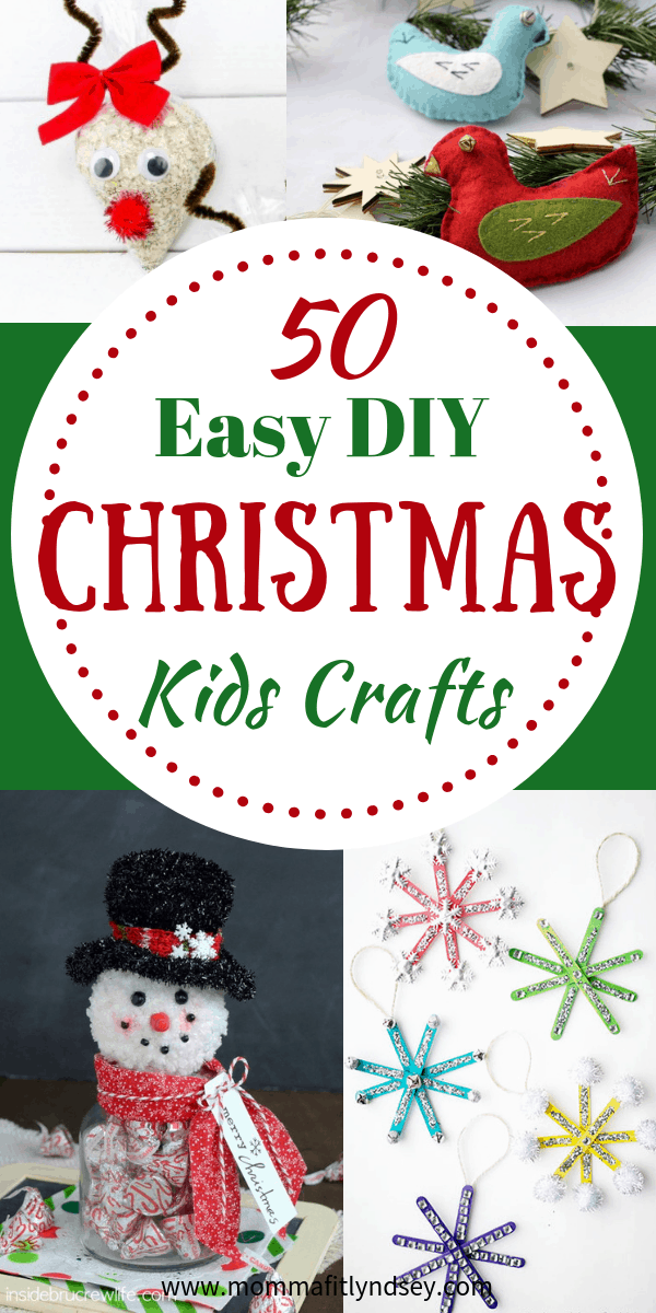 Easy Christmas Crafts Preschoolers
