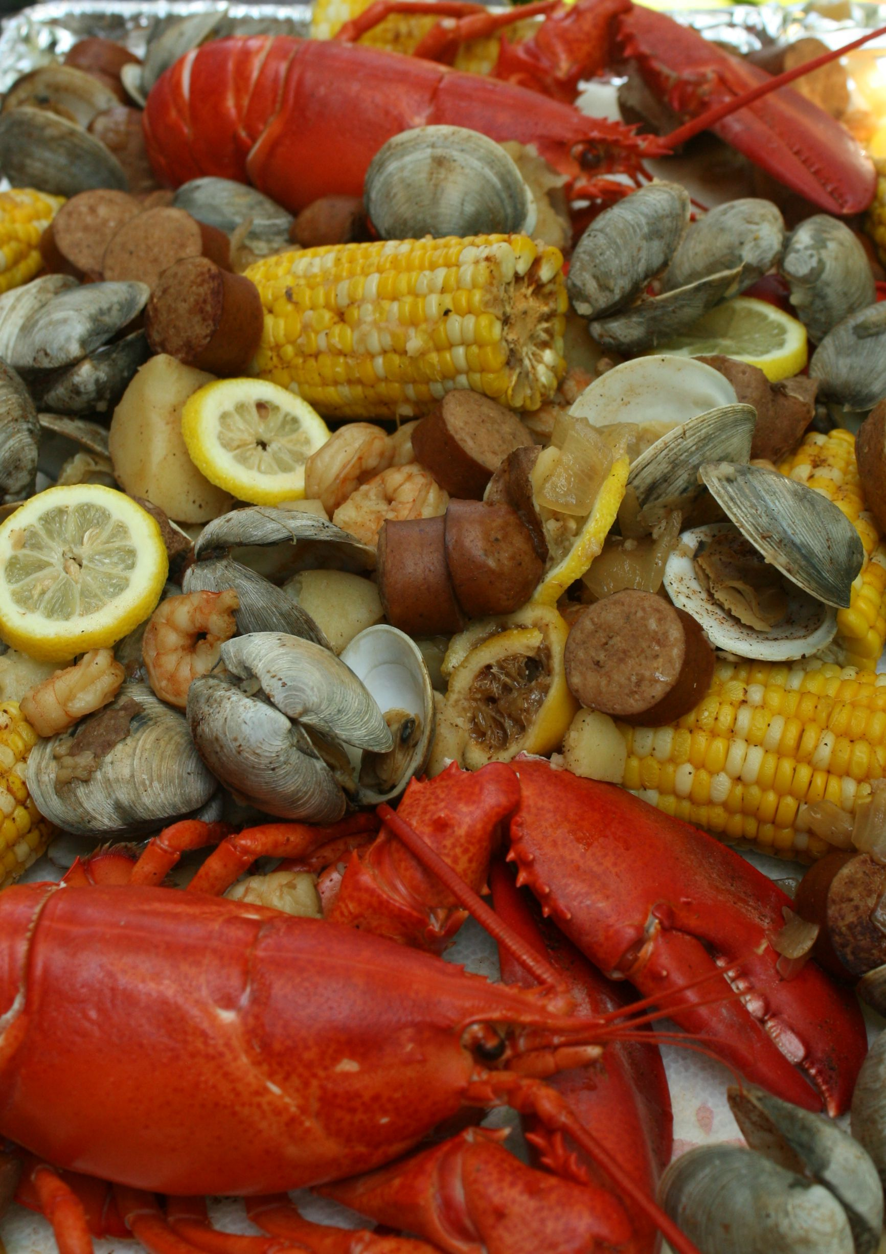 Steamed Seafood Boil Momma Lew