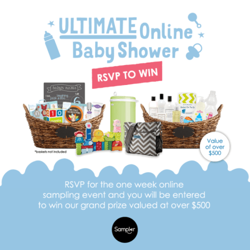 The Ultimate Online Baby Shower August 2015