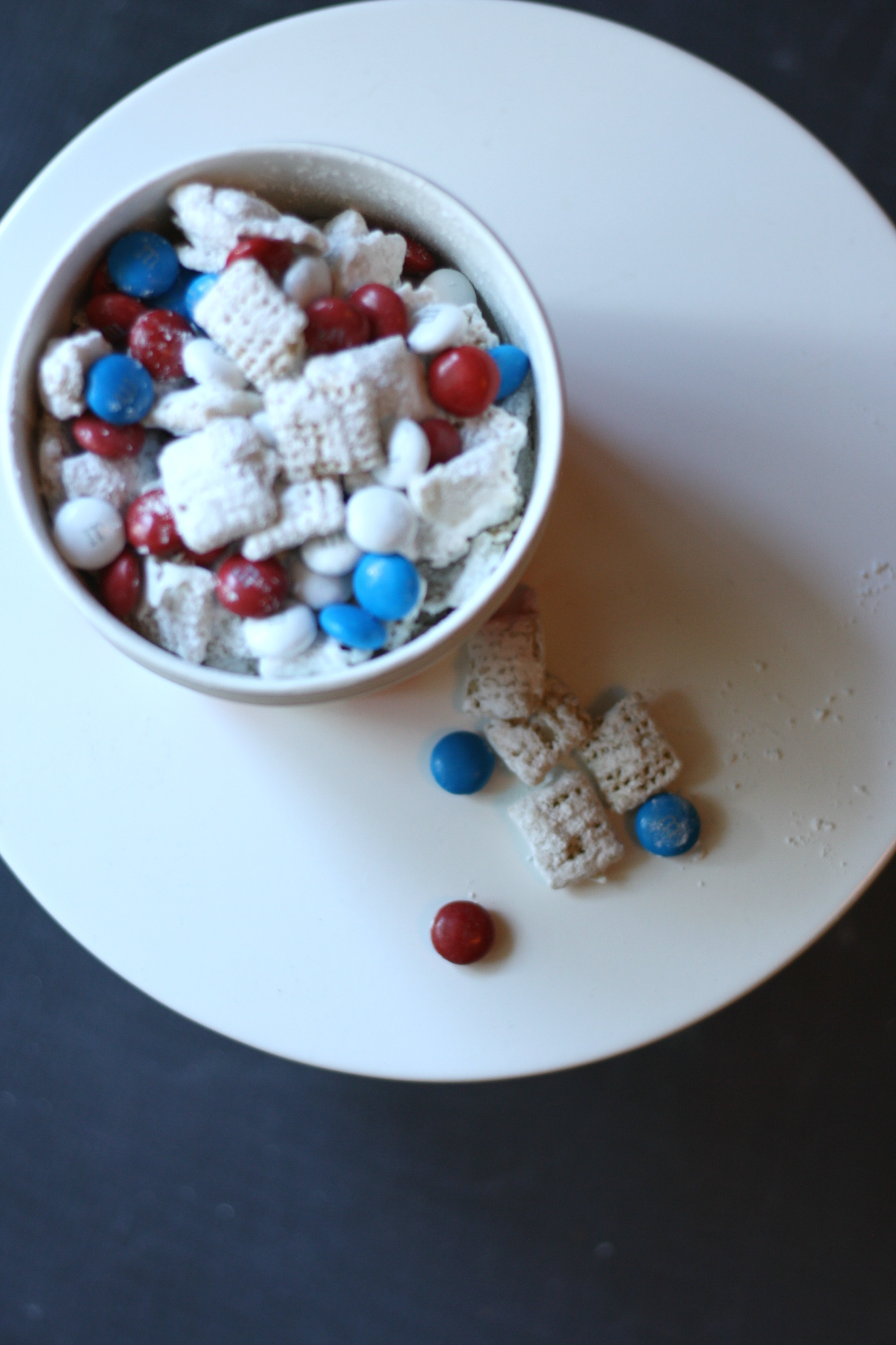 Red, White & Blue Muddy Buddies