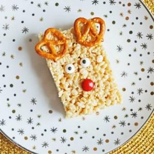 Reindeer Rice Krispies Treats