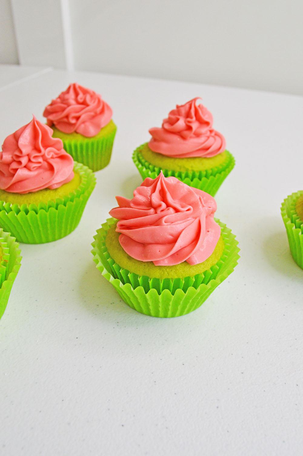 Watermelon Cupcakes - Momma Lew