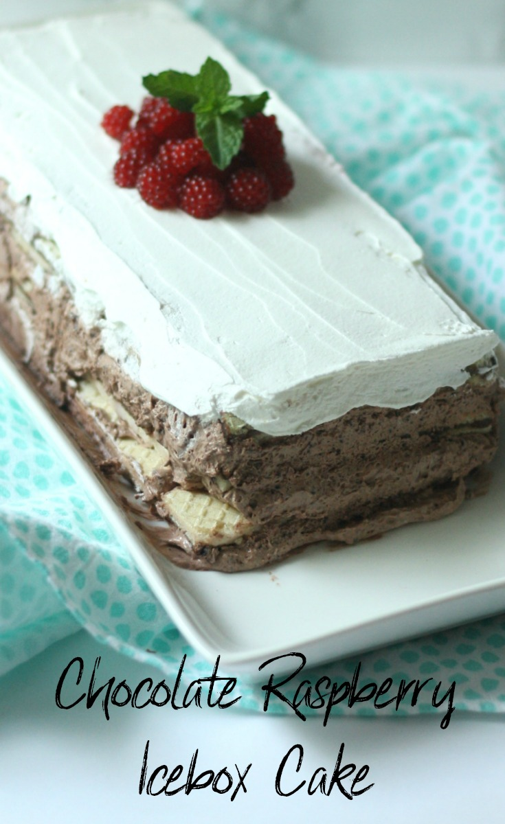 Chocolate Raspberry Icebox Cake Momma Lew