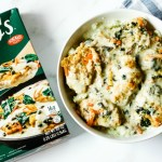Easy Chicken Francaise Recipe using Michael Angelo's Meal Starters