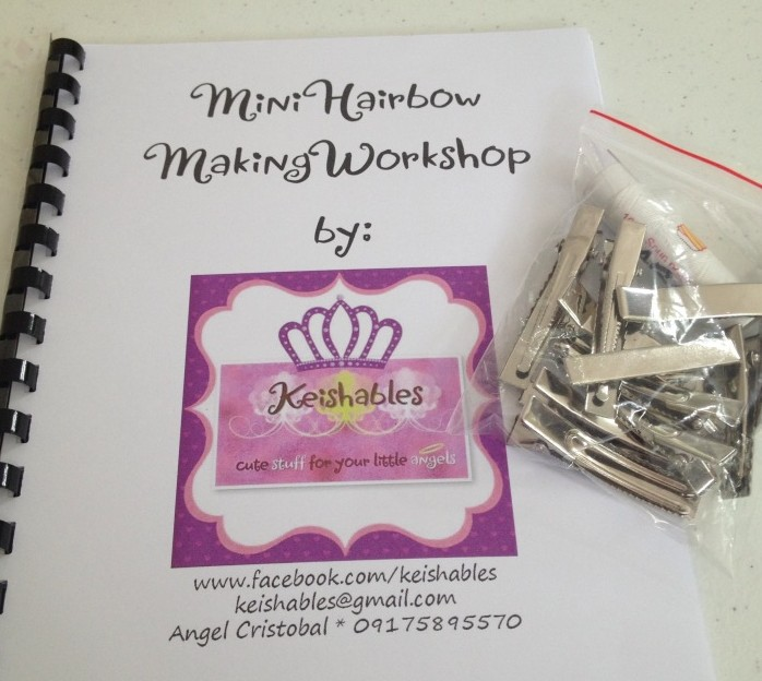 Angel prepared a manual with step by step instructions as well as plenty of extra clips we could keep even after the workshop was finished.
