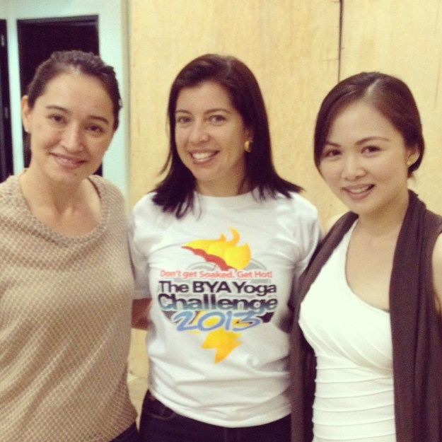 New Yoga Friends Lorena and Maru continue to inspire me with their dedication to their practice.