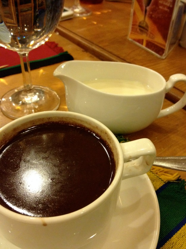 A trip to Baguio is NOT complete unless you have at least 3 cups of your native hot chocolate. (not all at once though.)