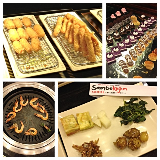 I always enjoy our visits at Sambokojin...sometimes a little TOO much...but the fact that everything is grilled allows me to feel LESS guilty about having to roll myself out the door...