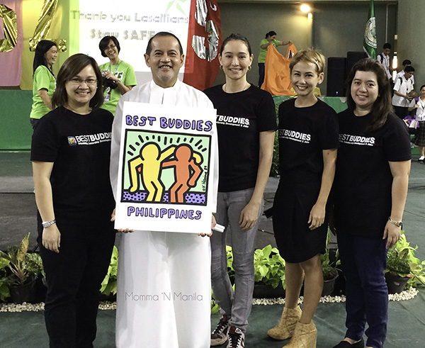 Brother Bernie was so receptive to bringing Best Buddies to DLSZ. He had quite a few ideas that we would all like to see realized.