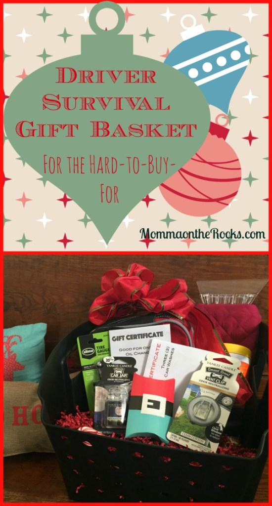 Cover image for driver survival gift basket