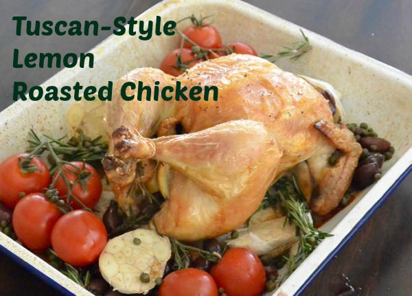 Tuscan-Style Lemon Roasted Chicken
