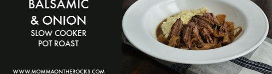 Balsamicand Onion Slow-Cooker Pot Roast