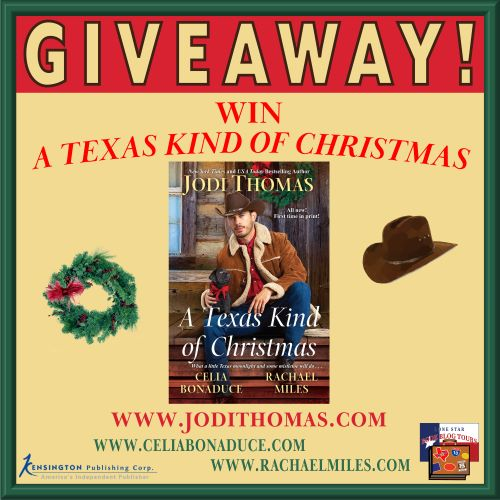 Texas Kind of Christmas giveaway graphic