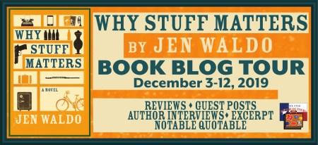 Blog Header of Why Stuff Matters Blog Tour